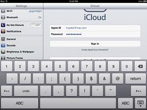 Снятие и разблокировкаApple ID iPad  (Айпад)