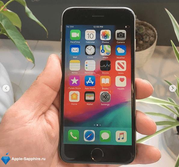 Замена аккумулятора (батареи) iPhone 6s