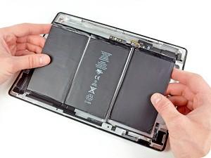 Замена аккумулятора (батареи) iPad (Айпад) в Москве