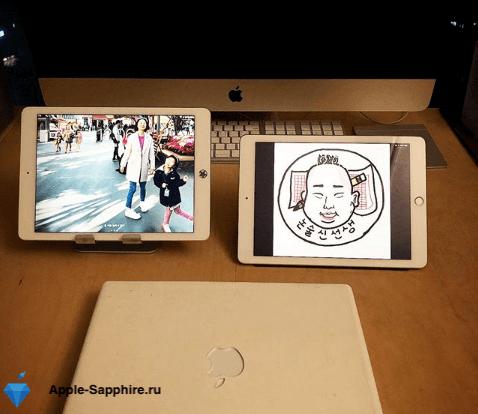 """Не работает часть экрана iPad Pro 9,7"""""""