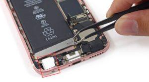 Ремонт гнезда наушников iPhone 8