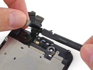 Ремонт передней камеры iPhone 8