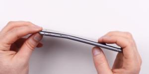 Выпрямление корпуса iPhone X