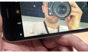 Не фокусируется передняя камера iPhone7