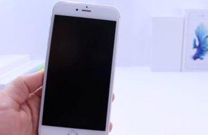 Нет изображения на iPhone 7