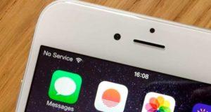 Постоянный поиск сети iPhone X