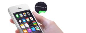 Постоянный поиск сети iPhone 7 Plus