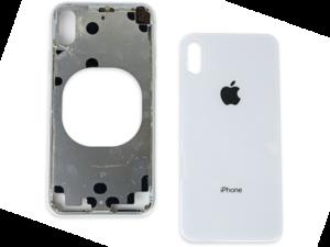 Повреждена задняя крышка iPhone X