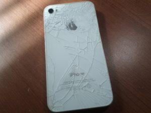 Повреждена задняя крышка iPhone 8 Plus