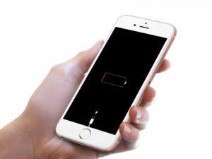 Быстро разряжается iPhone 8