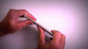 Выпрямление корпуса iPhone 7