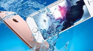 Упал в воду iPhone 7