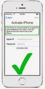 Разблокировка Apple ID на iPhone 7