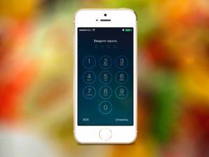 Забыт пароль входа iPhone 8 Plus