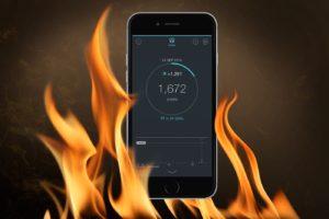 Нагревается iPhone 7