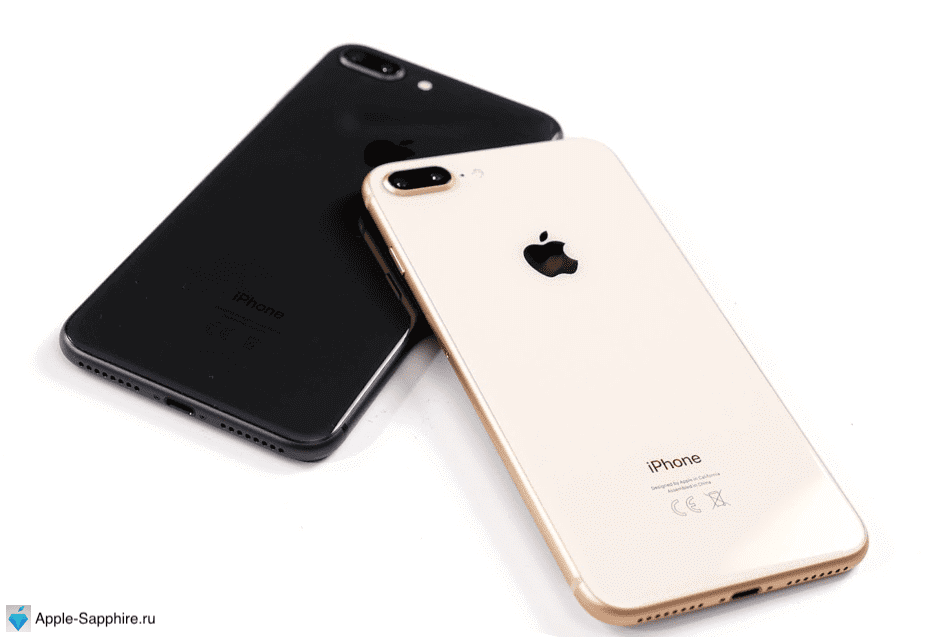 Замена стекла iPhone 8+