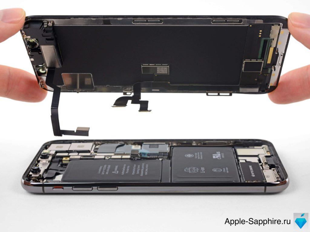 Замена стекла Айфон 10