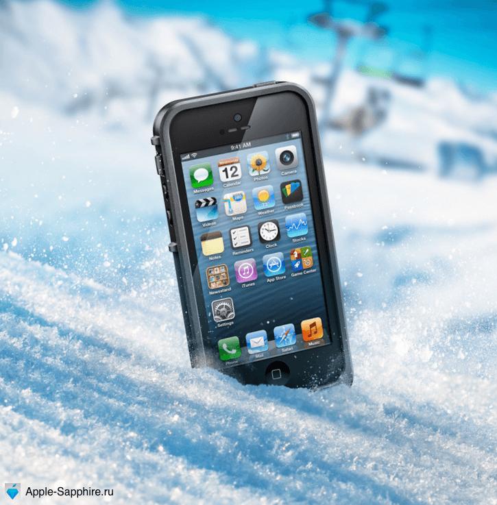 iPhone зима