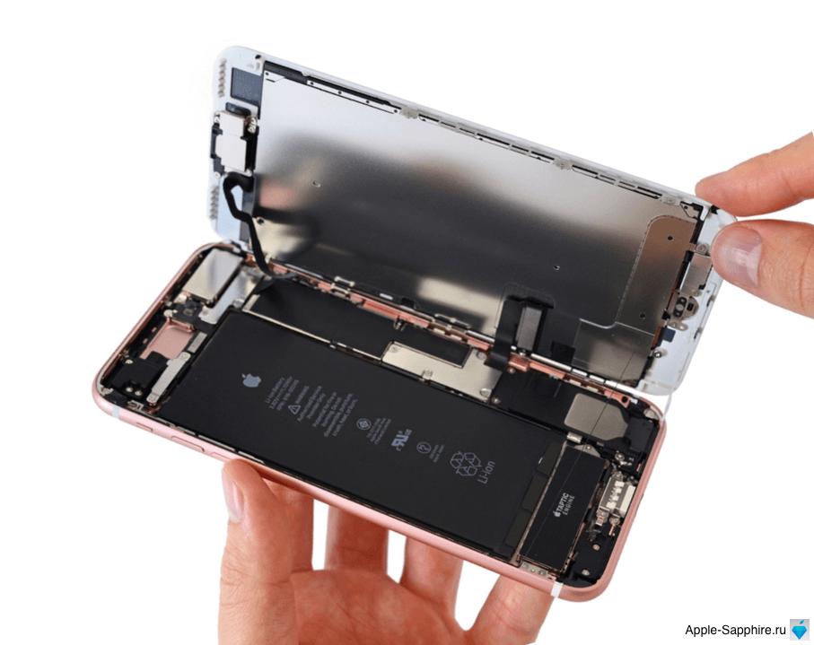 Зависает экран iPhone