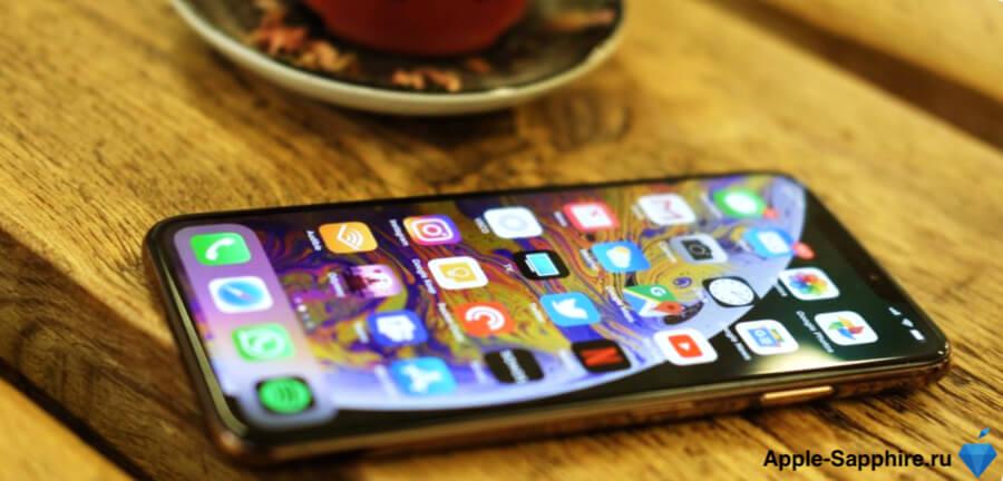Быстро разряжается iPhone XS
