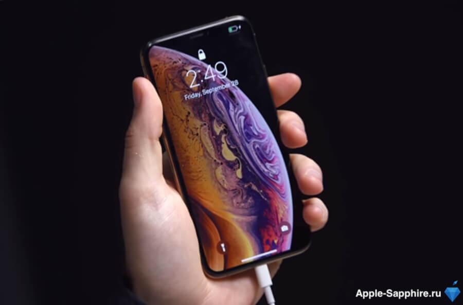 iphone xs греется