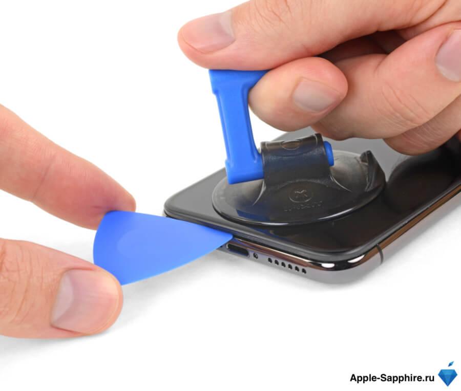 Не работает часть экрана Айфон XS