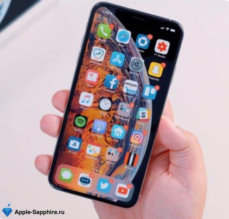 Не работает часть экрана iPhone XS
