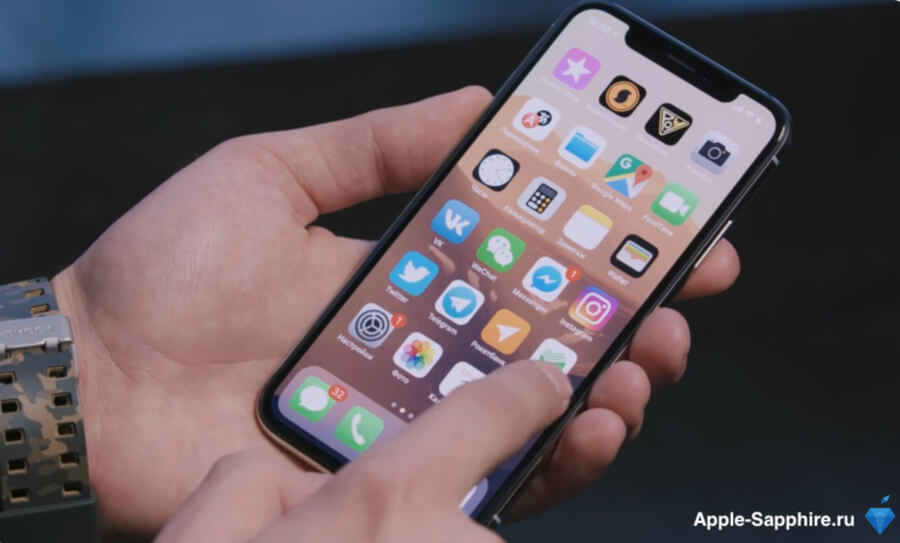 Не работает сенсор (тачскрин) Айфон XS