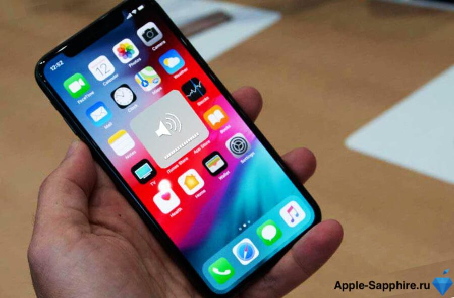 Не работают кнопки громкости (+-) iPhone XS