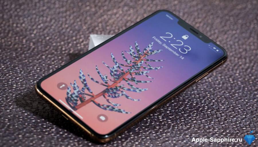 Отсутствует изображение iPhone XS