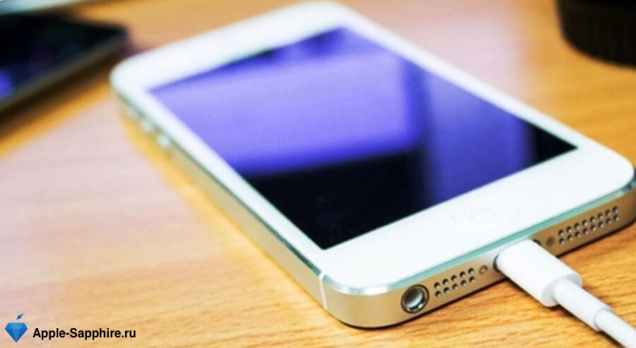 iPhone не заряжается
