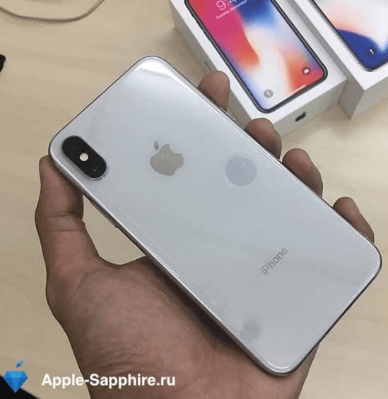 Ошибка переустановки ПО iTunes iPhone X