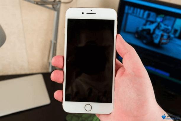 Нет изображения iPhone 8