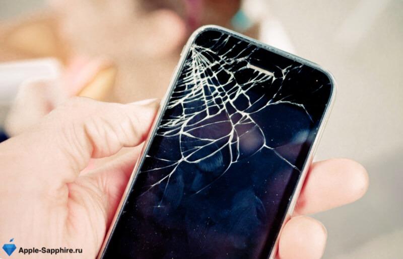 Разбился дисплей iPhone