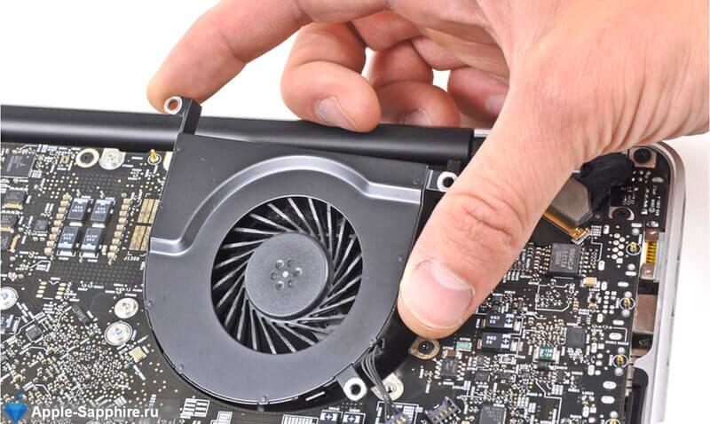 Шумит вентилятор MacBook