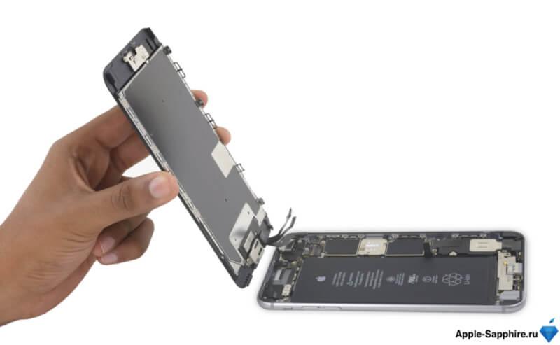 iPhone разбит дисплей