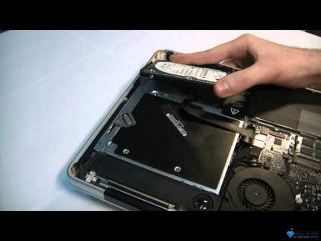 Замена жесткого диска MacBook