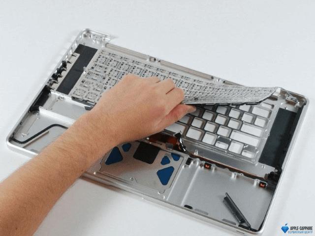 Замена клавиатуры/топкейса MacBook