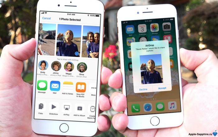 AirDrop iPhone