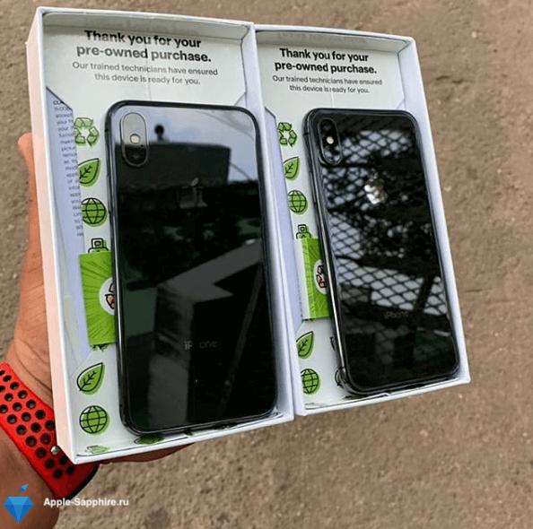 Не фокусирует задняя камера iPhone XS