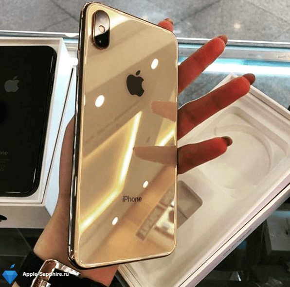 Выпрямление корпуса iPhone XS