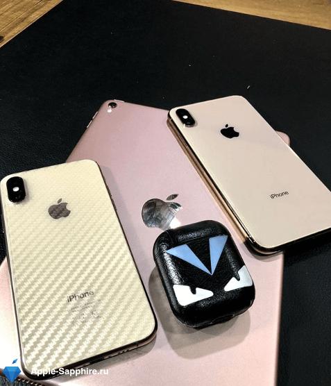 Не работает часть экрана iPhone XS MAX