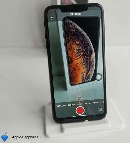 Замена передней камеры iPhone XS