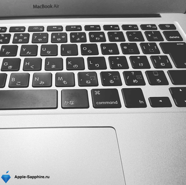 Диагностика MacBook Air