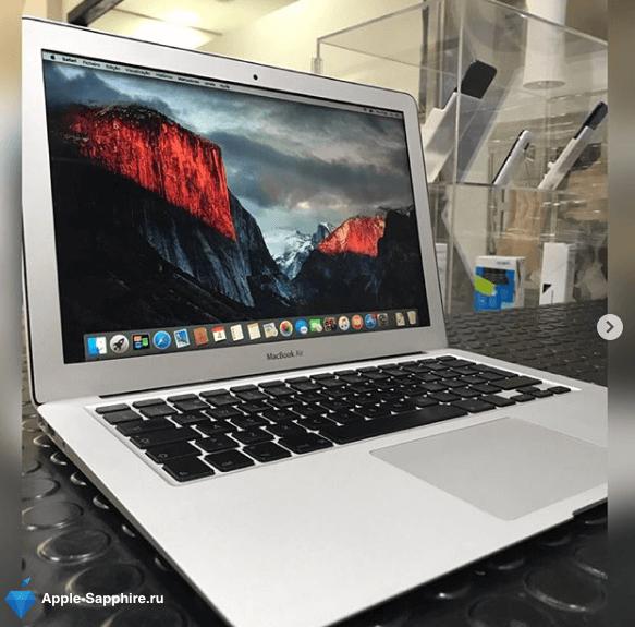 Ремонт и замена материнской платы MacBook Air
