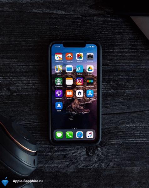 Быстро разряжается iPhone XS MAX