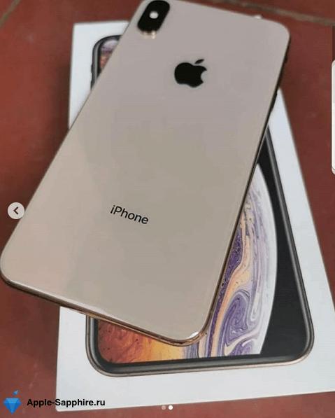 Упал в воду iPhone XS MAX