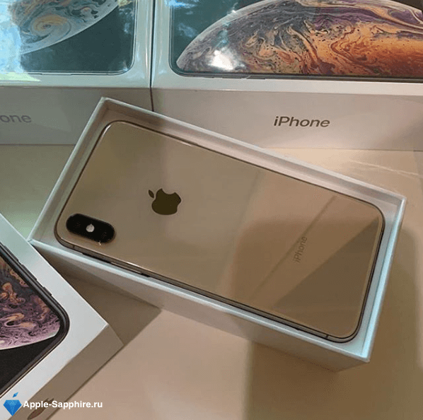 Замена задней камеры iPhone XS MAX
