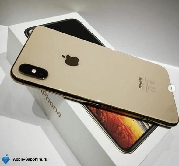 Не фокусирует передняя камера iPhone XS MAX