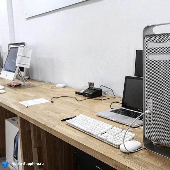 Замена аккумулятора Macbook